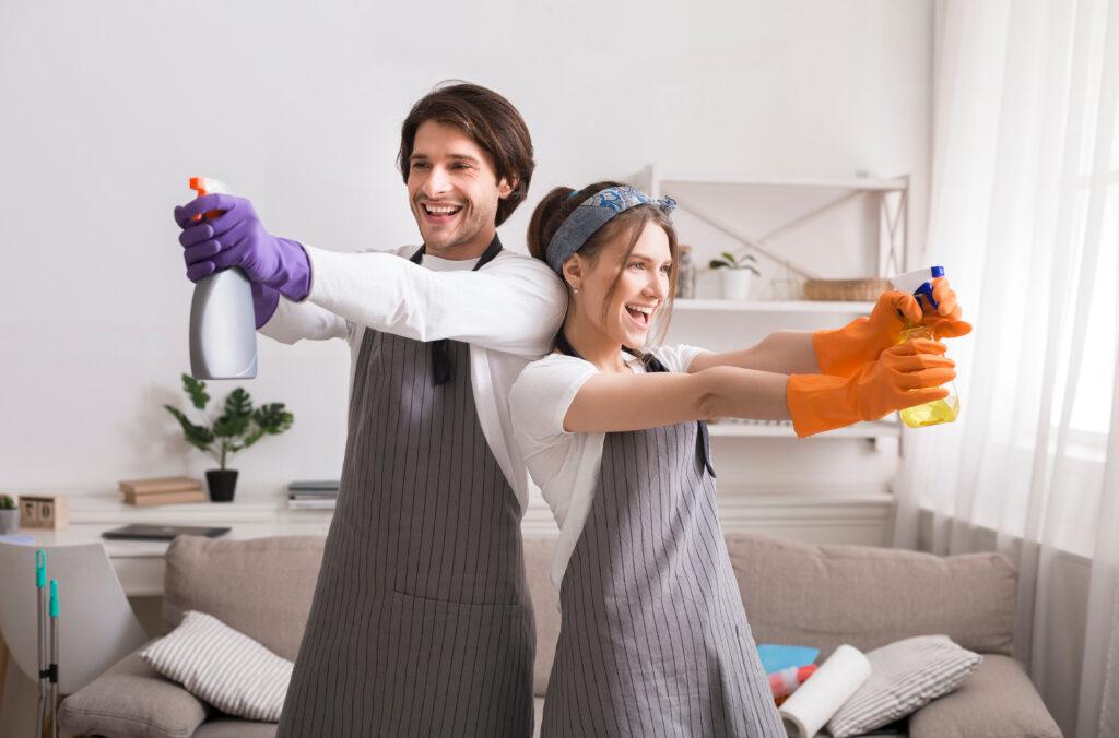Nettoyage de printemps avec Color Immo